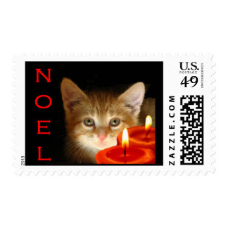 Kitty Noel Postage Stamps