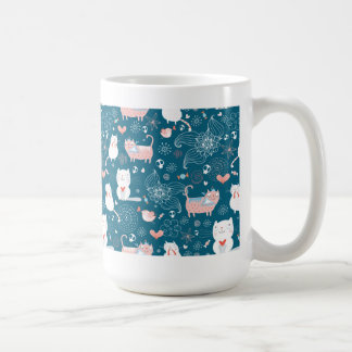 Kitty Pattern one Mug