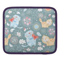 Kitty Pattern Three Sleeve For iPads