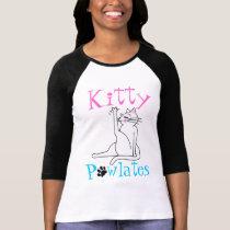 Kitty PAWlates T-shirt