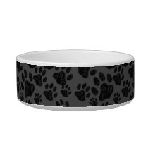 Kitty Paws Princess personalise Cat Bowl