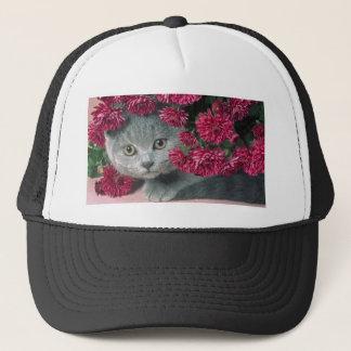 Kitty-Peek-A-Boo Trucker Hat