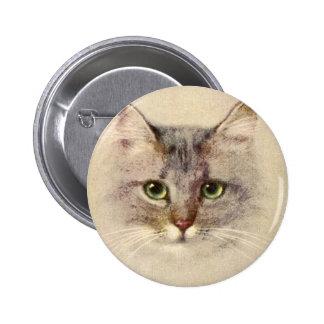 Kitty Pinback Button