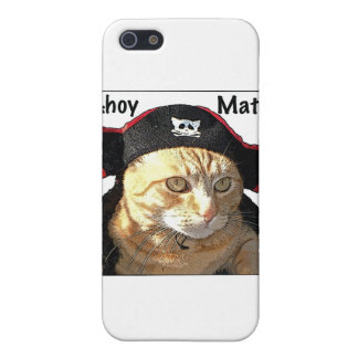 Kitty Pirate iPhone 5 Covers