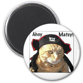 Kitty Pirate Magnet