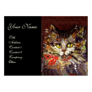 KITTY PORTRAIT BUSINESS CARD TEMPLATES