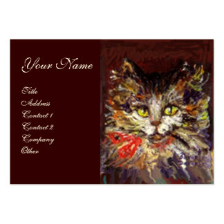 KITTY PORTRAIT BUSINESS CARD TEMPLATE
