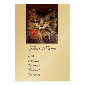 KITTY PORTRAIT BUSINESS CARDS