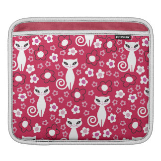 Kitty Power Floral Sleeve For iPads