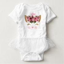 Kitty Princess Baby Tutu Bodysuit