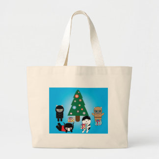 Kitty Protectors Christmas Holiday Bag
