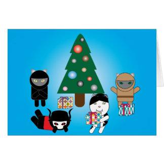 Kitty Protectors Christmas Holiday Card