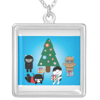 Kitty Protectors Christmas Holiday Necklace