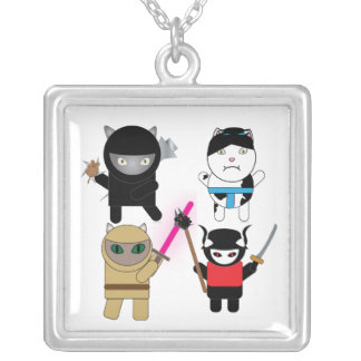 Kitty Protectors Necklace