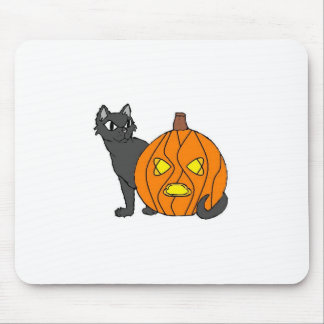 Kitty & Pumpkin collection Mouse Pad