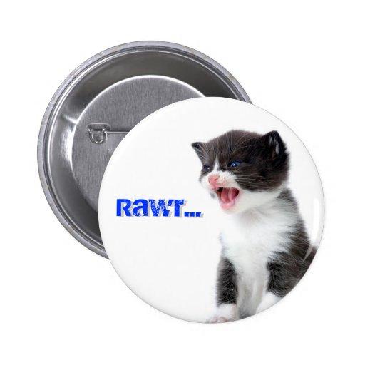 Kitty Rawr Button