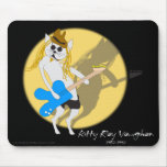 Kitty Ray Vaughan Mouse Mats