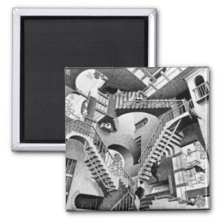 Kitty Relativity 2 Inch Square Magnet