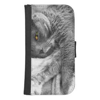 Kitty Relax Galaxy S4 Wallet