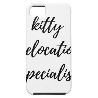 Kitty Relocation Specialist iPhone SE/5/5s Case