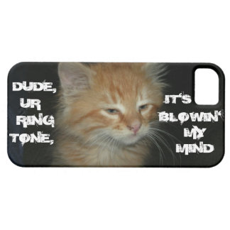"Kitty ""RINGTONE ITS BLOWIN' MY MIND"" iPhone 5 Case"