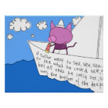 Kitty Sailor Poster