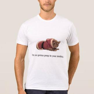Kitty Santa Shirt