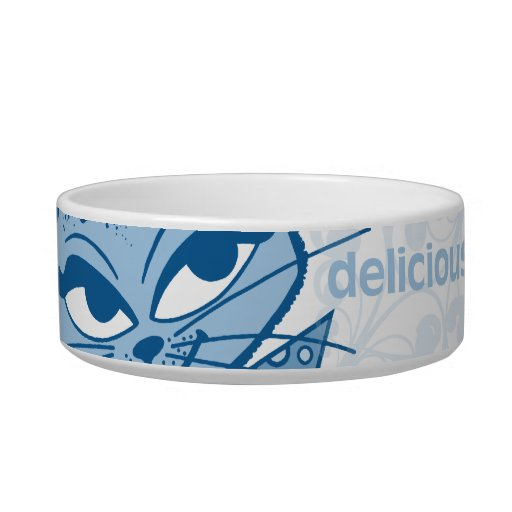Kitty Says Delicious Cat Pet Bowl Cat Food Bowl