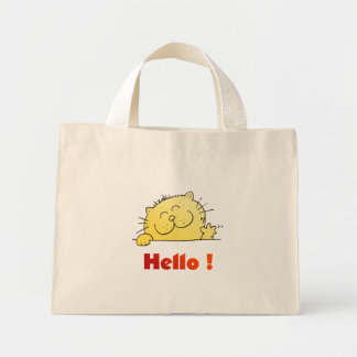 Kitty Says Hello Mini Tote Bag