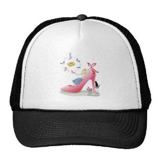 Kitty Shoe Lady Trucker Hat