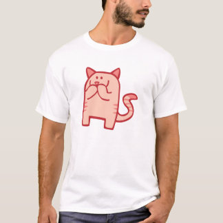 Kitty Snickers - Pink T-Shirt