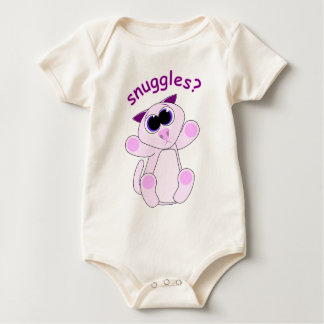 Kitty Snuggles Baby Bodysuit