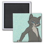 Kitty Softpaws 2 Inch Square Magnet
