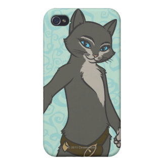 Kitty Softpaws Cover For iPhone 4