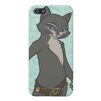 Kitty Softpaws iPhone SE/5/5s Cover