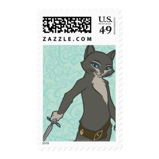 Kitty Softpaws Postage Stamps