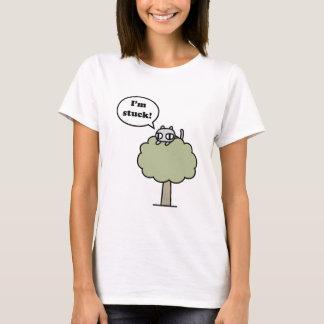 Kitty Stuck In Tree T-Shirt