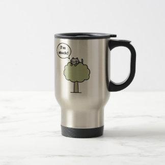 Kitty Stuck In Tree Travel Mug