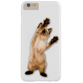 Kitty Stuck in your phone  iPhone6 Plus Case Barely There iPhone 6 Plus Case