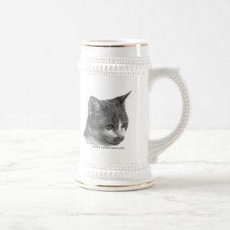 Kitty, Tabby Cat Beer Stein