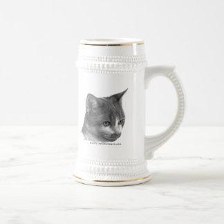 Kitty Tabby Cat Coffee Mug