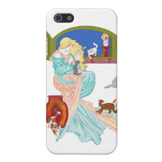 Kitty Tales iPhone 5 Covers