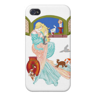 Kitty Tales iPhone 4/4S Case