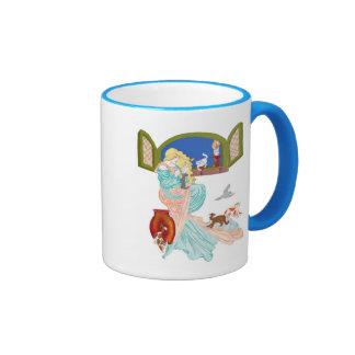 Kitty Tales Ringer Coffee Mug
