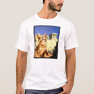 "Kitty Tee ""Kitty Goes to the Acropolis"""