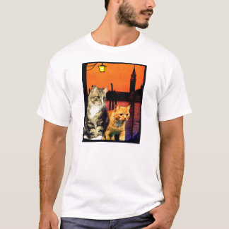 "Kitty Tee ""Kittys in Venice"""