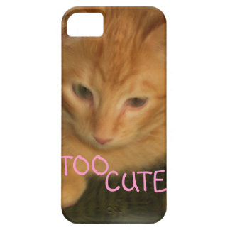 "Kitty ""TOO CUTE"" iPhone 5G/4GS Case ID"