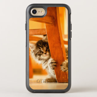 Kitty Under Chair OtterBox Symmetry iPhone 8/7 Case