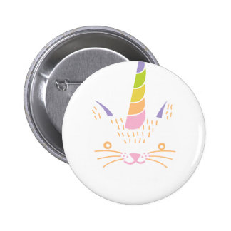 Kitty Unicorn Button