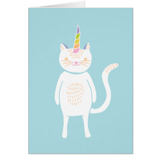 Kitty Unicorn Card